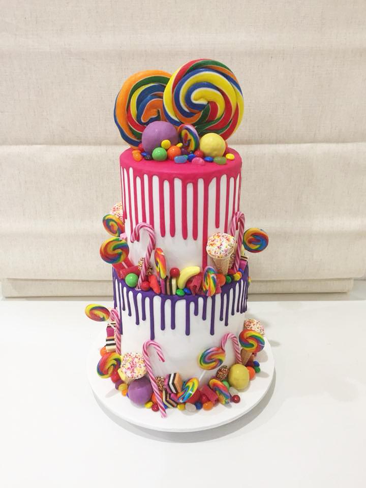 Lollies Drip Cake