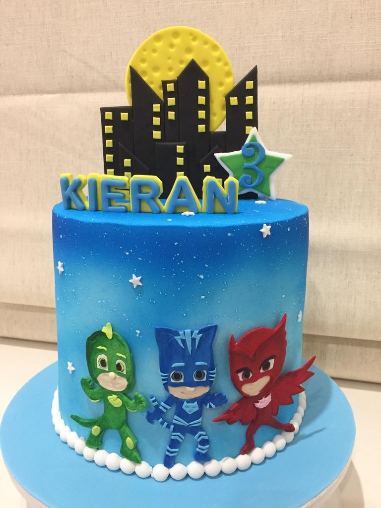 PJ Marks Cake