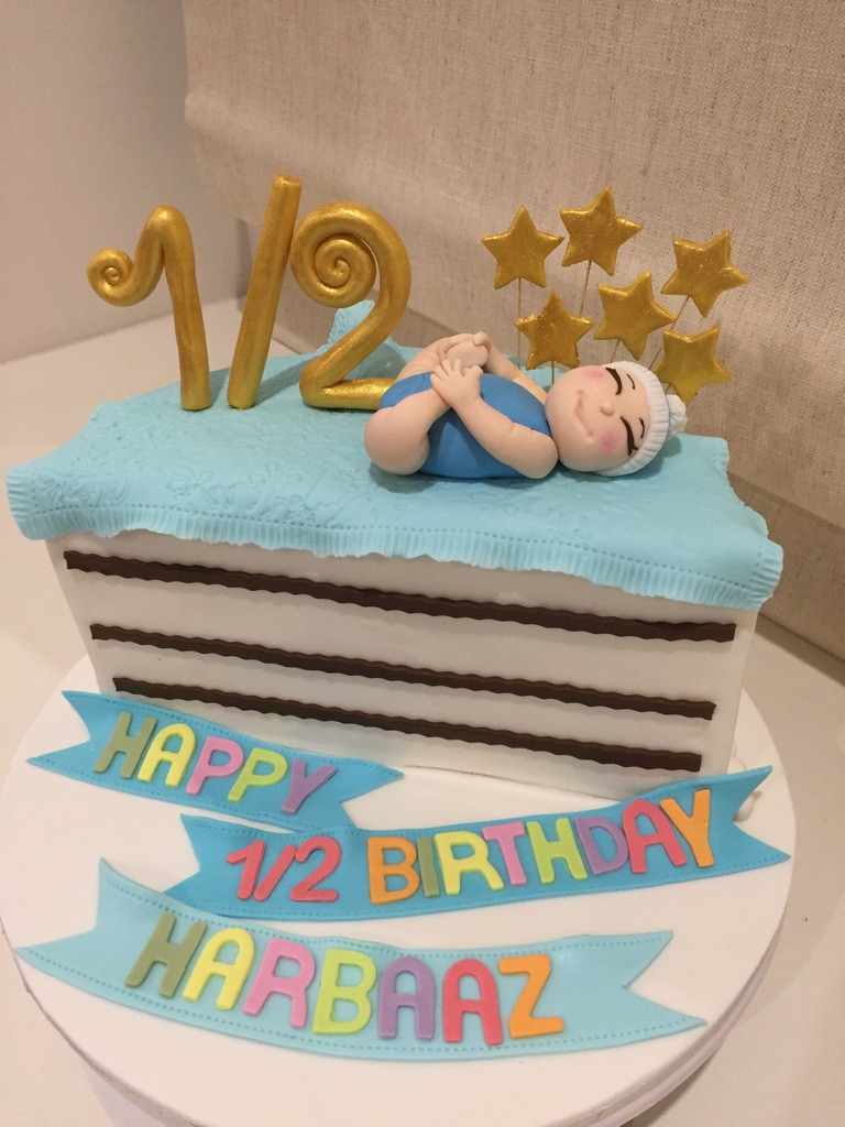 Six Months Old Cake