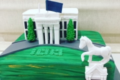 Box Hill Town Hall Cake