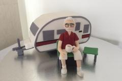 Caravan Figurine