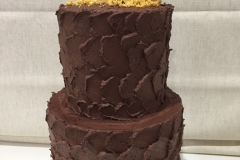 Chocolate Honeycomb Cake