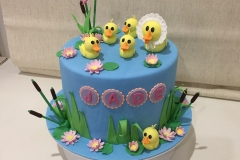 Five Little Ducks Cake