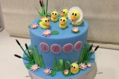 Five Little Ducks Cake