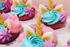 Flowers Unicorn Cupcakes