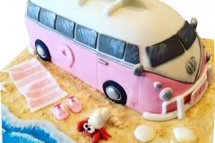 Kombi van cake