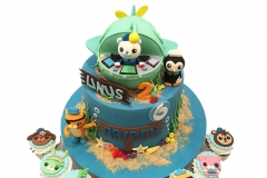 Octonauts and submarine