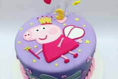 Princess Peppa Pig Cake