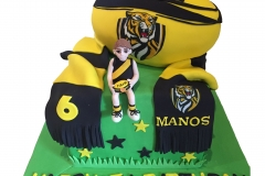 Richmond football club cake
