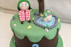 Sarah and Duck Cake