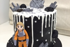 Star Wars and Sky Walker Cake