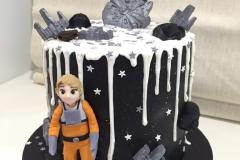 Star Wars and Sky Walker Cake