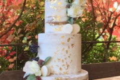 Wedding Naked 3 tiers Cake