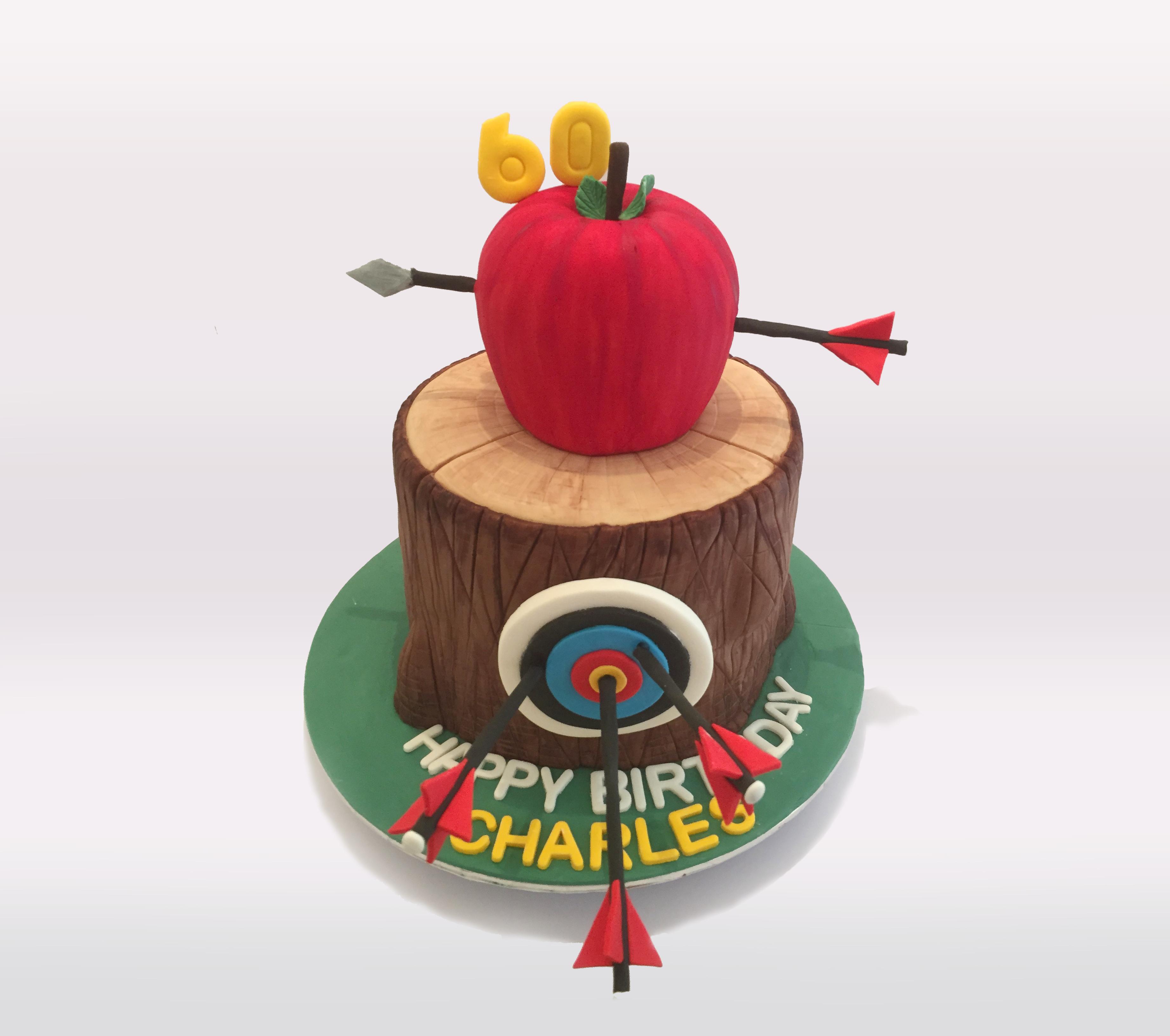 William Tell Cake Adisa Cakes