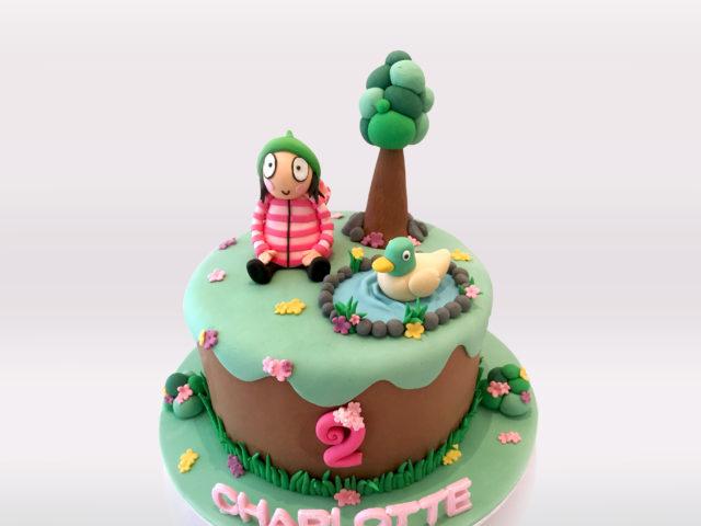 Sarah & Duck Cake