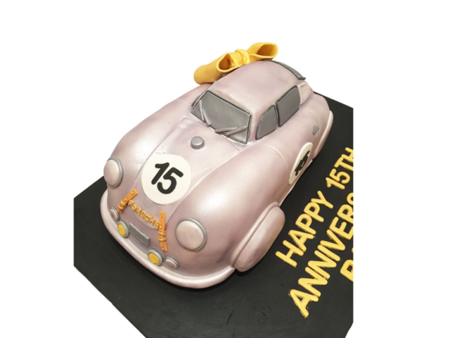 3D Classic Porsche Car Cake