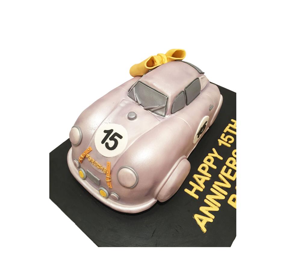 Porsche Car Cake Melbourne